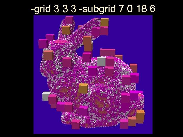 -grid 3 3 3 -subgrid 7 0 18 6