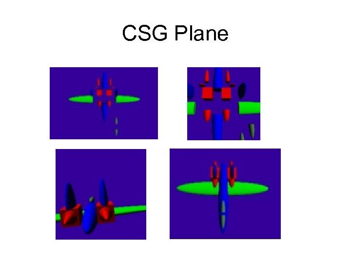 CSG Plane