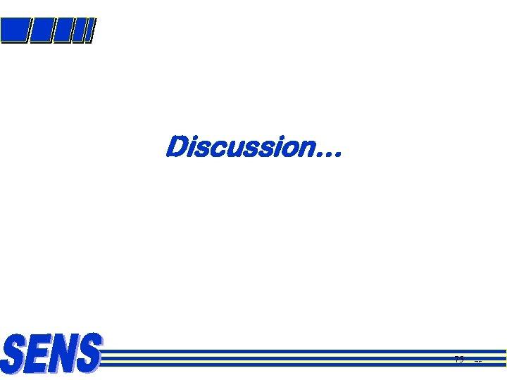 Discussion… 75 75