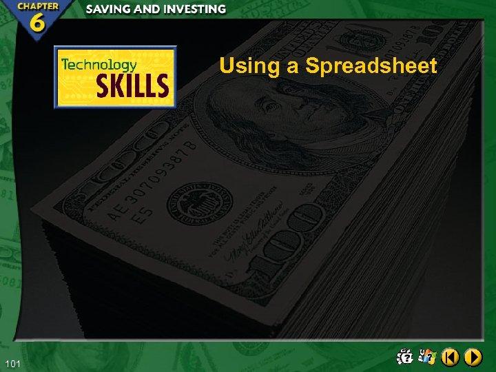 Using a Spreadsheet 101