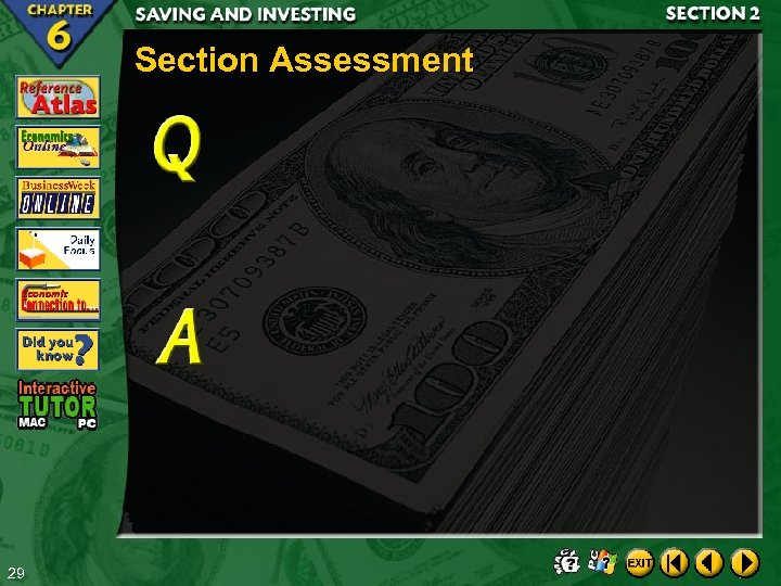 Section Assessment 29