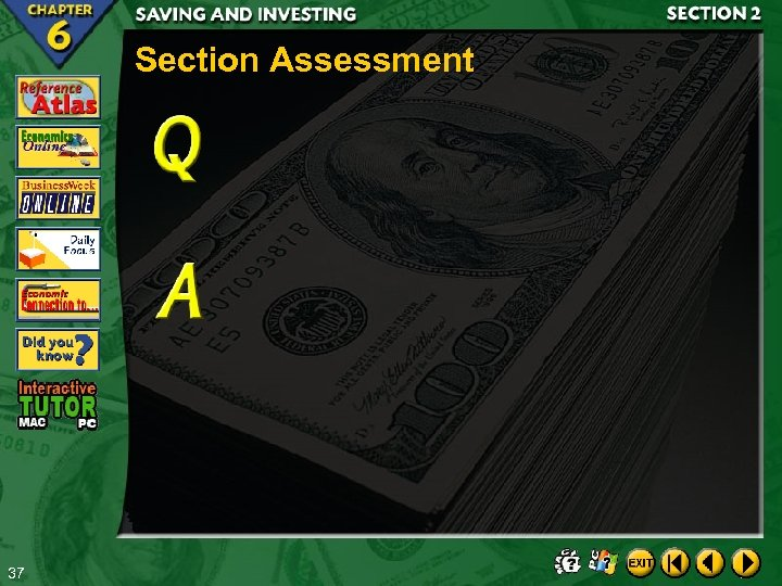 Section Assessment 37