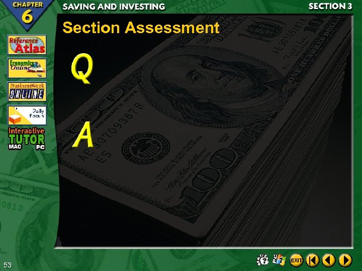 Section Assessment 53