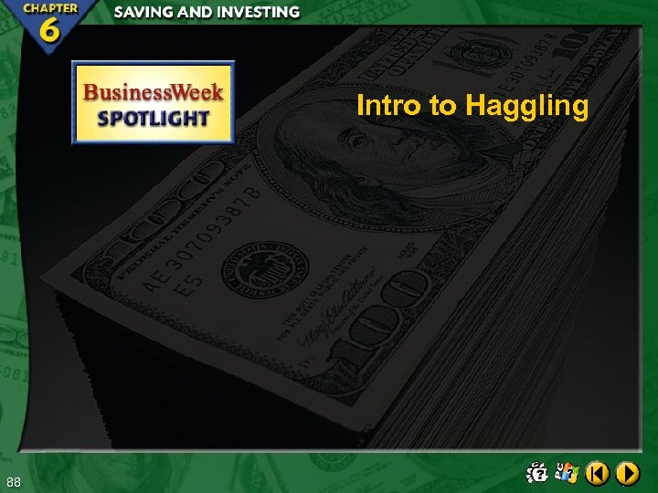 Intro to Haggling 88