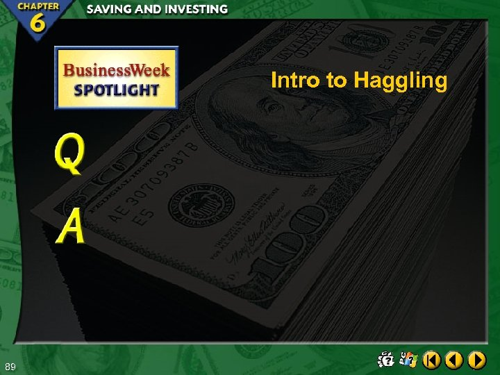 Intro to Haggling 89