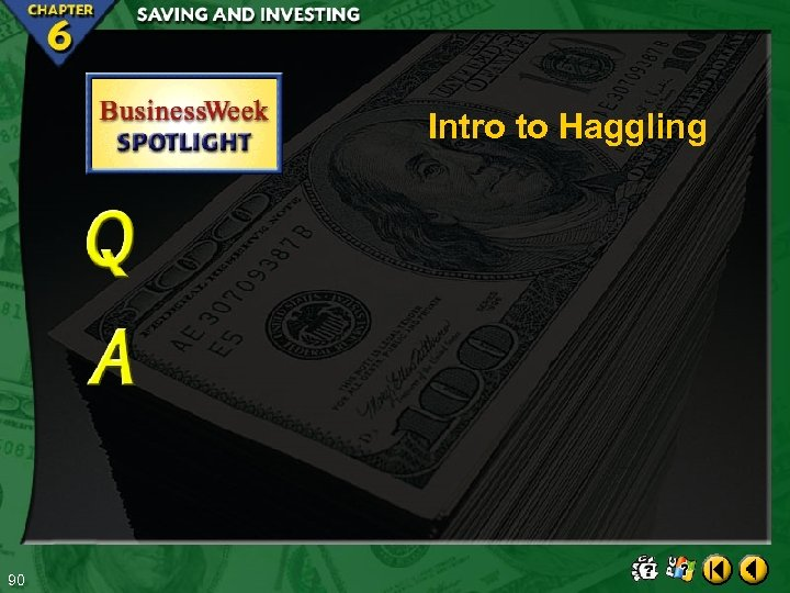 Intro to Haggling 90