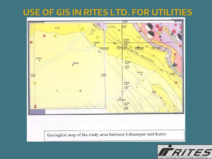 USE OF GIS IN RITES LTD. FOR UTILITIES