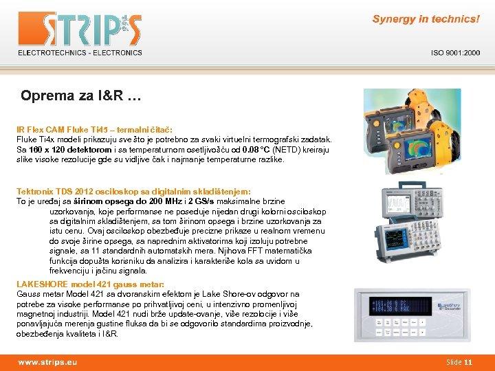 Oprema za I&R … IR Flex CAM Fluke Ti 45 – termalni čitač: Fluke