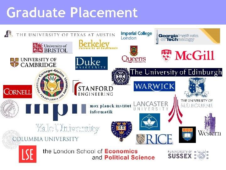 Graduate Placement