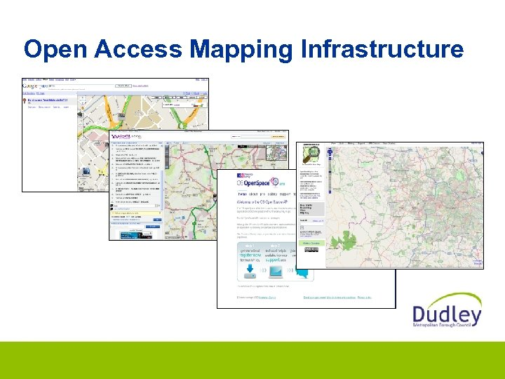 Open Access Mapping Infrastructure
