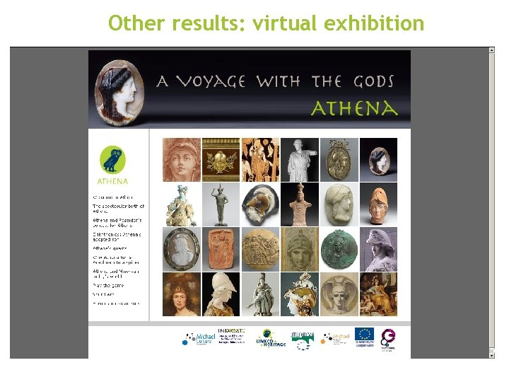 Other results: virtual exhibition