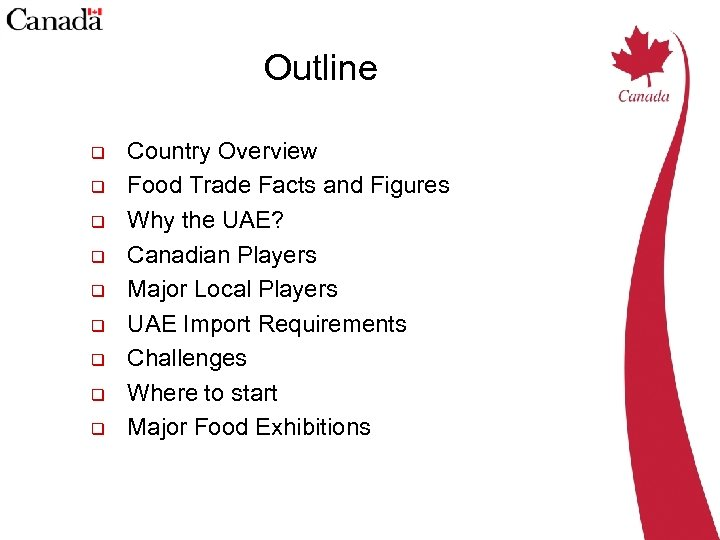The United Arab Emirates Agri-food Market Rania Hassan