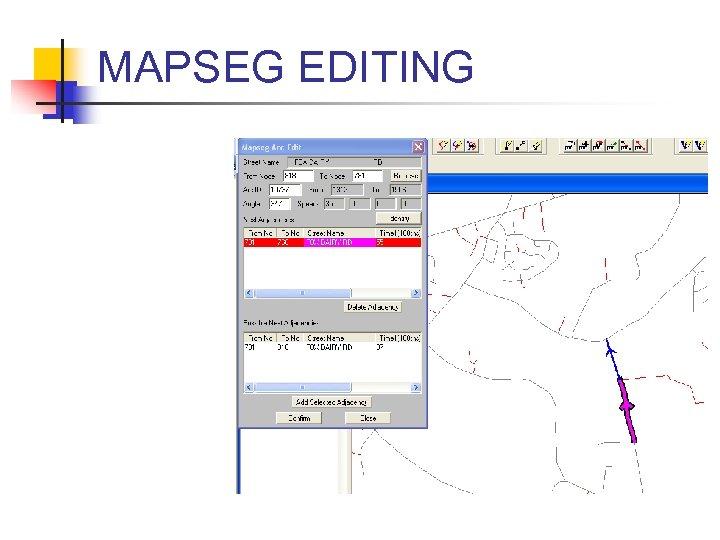MAPSEG EDITING