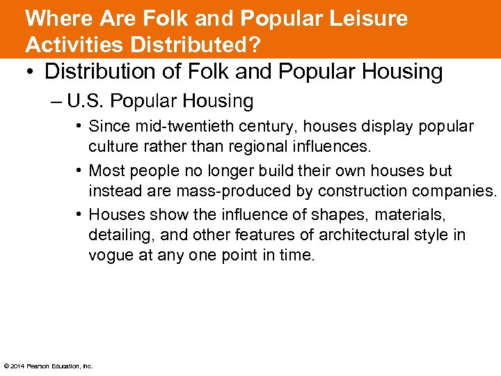 Where Are Folk and Popular Leisure Activities Distributed? • Distribution of Folk and Popular