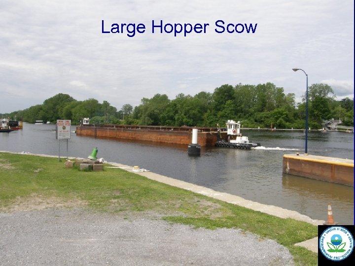 Large Hopper Scow