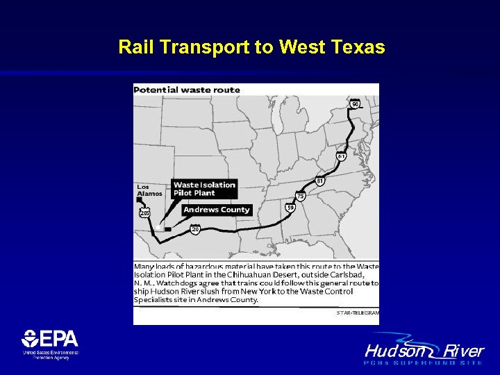 Rail Transport to West Texas