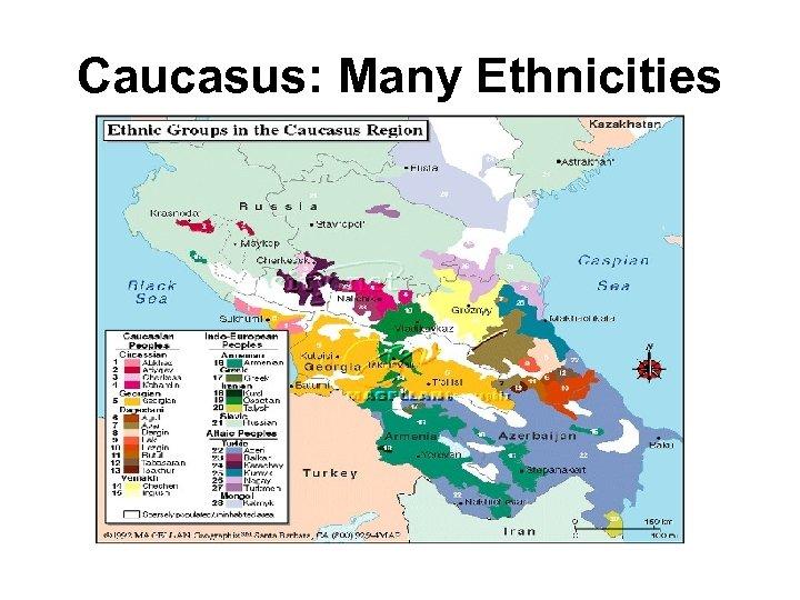 Caucasus: Many Ethnicities