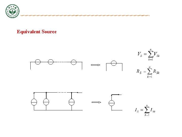 Equivalent Source