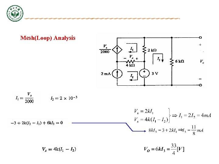 Mesh(Loop) Analysis
