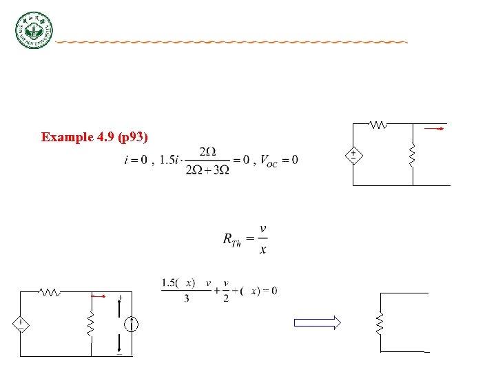 Example 4. 9 (p 93)