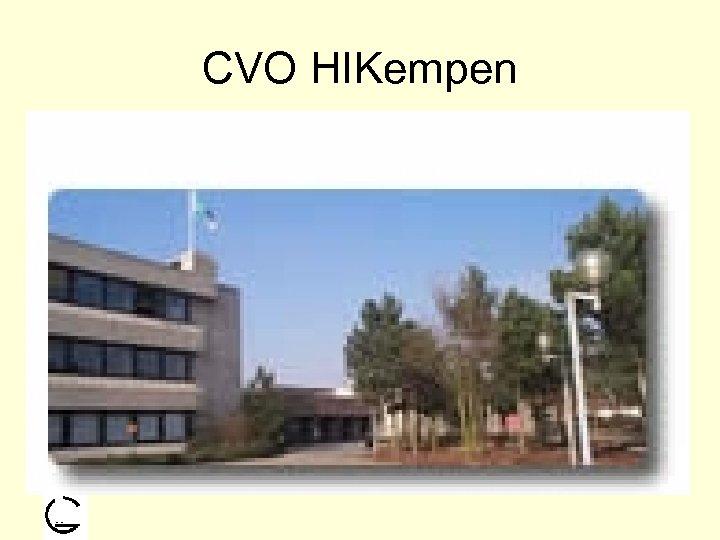 CVO HIKempen