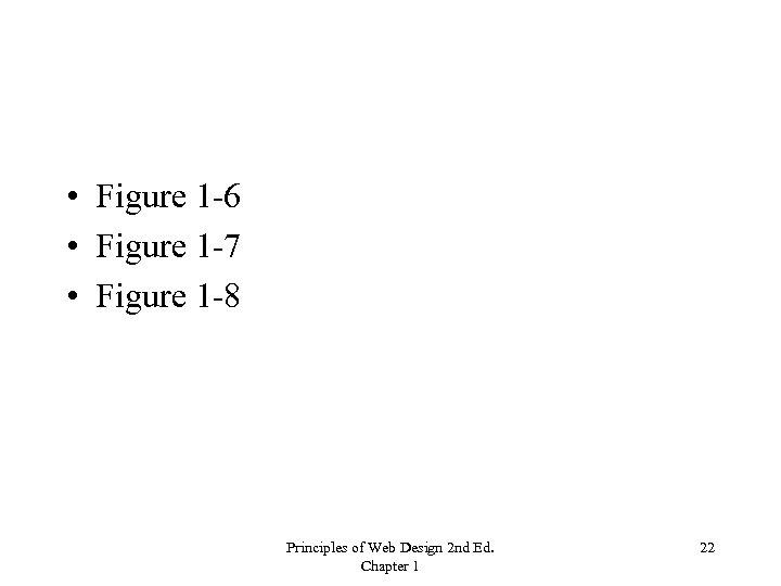 • Figure 1 -6 • Figure 1 -7 • Figure 1 -8 Principles