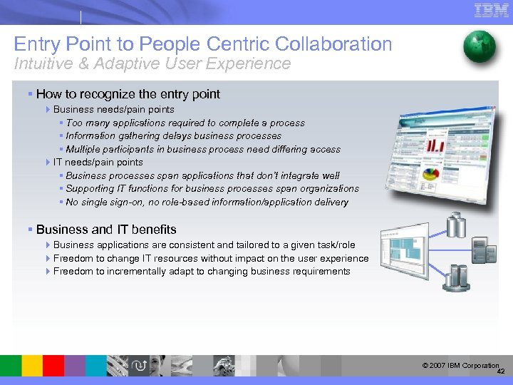 Entry Point to People Centric Collaboration Intuitive & Adaptive User Experience § How to