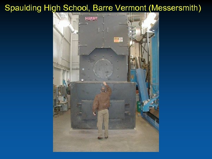 Spaulding High School, Barre Vermont (Messersmith)