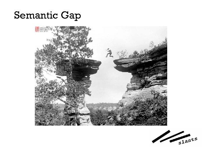 Semantic Gap