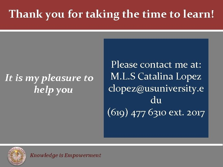 Thank you for taking the time to learn! It is my pleasure to help