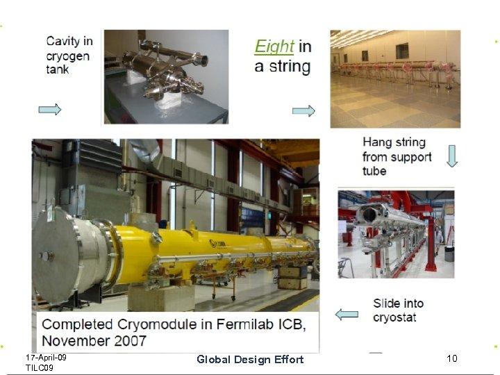 17 -April-09 TILC 09 Global Design Effort 10