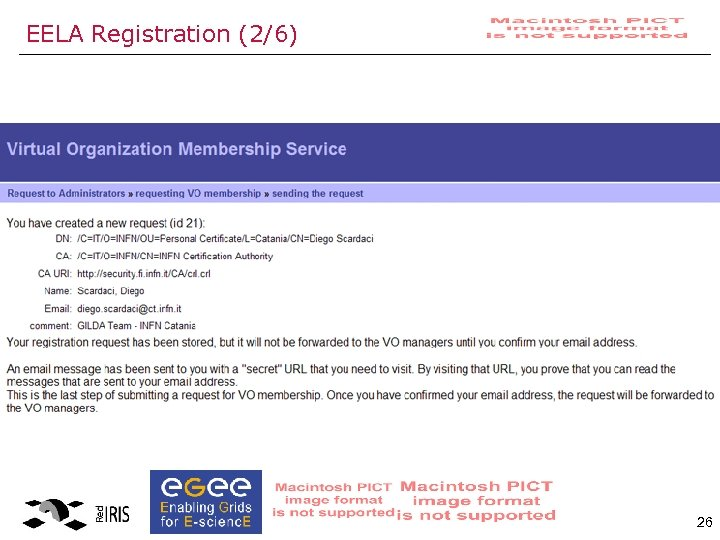 EELA Registration (2/6) 26