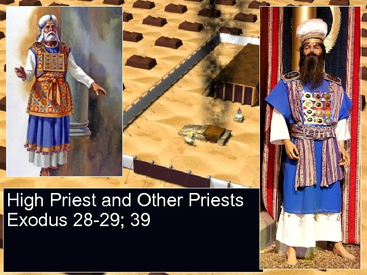 High Priest and Other Priests Exodus 28 -29; 39