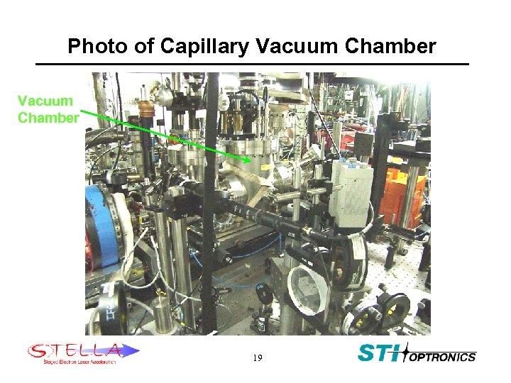 Photo of Capillary Vacuum Chamber 19