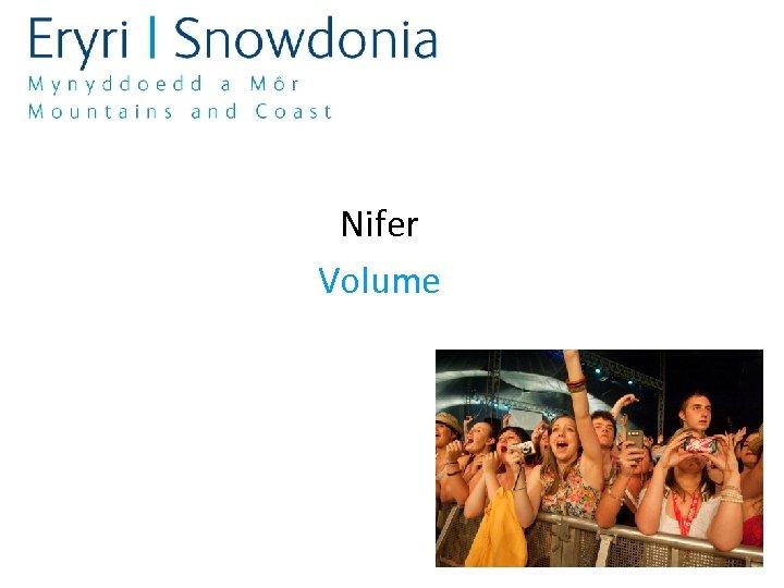 Nifer Volume