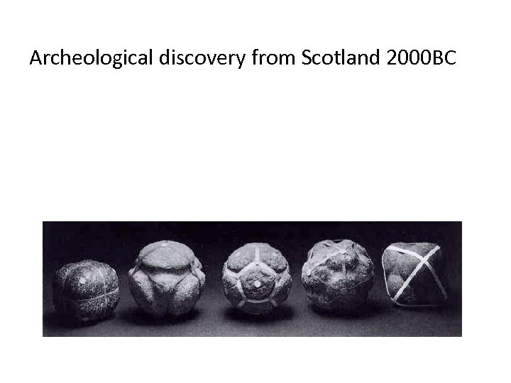 Archeological discovery from Scotland 2000 BC