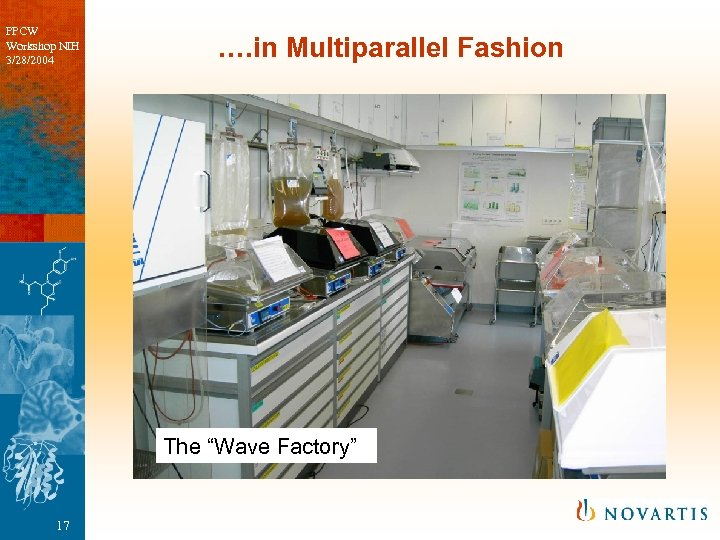 "PPCW Workshop NIH 3/28/2004 …. in Multiparallel Fashion The ""Wave Factory"" 17"