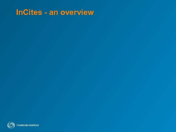 In. Cites - an overview