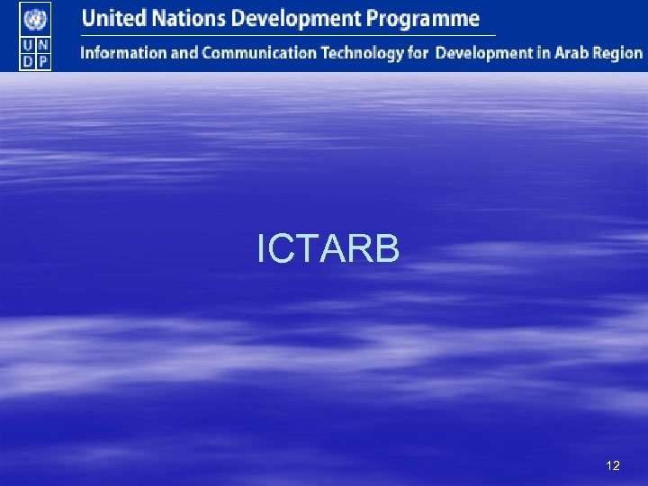 ICTARB 12