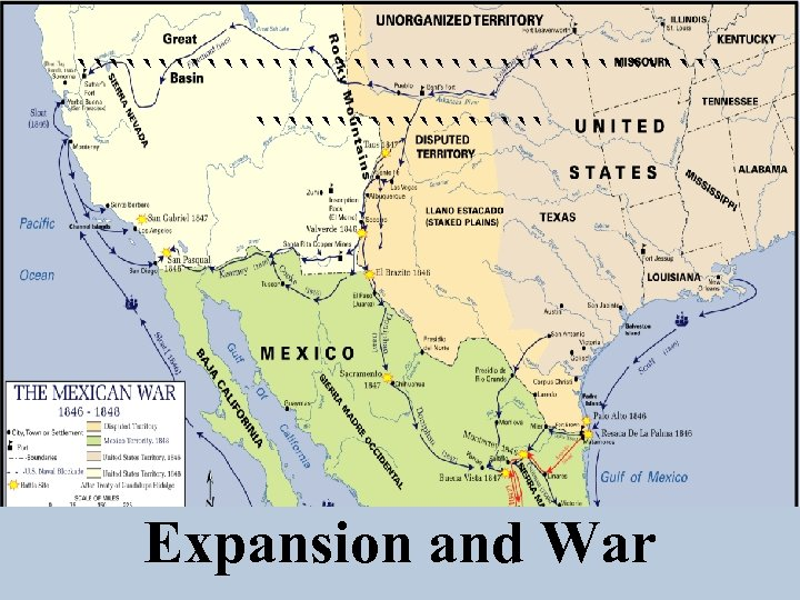 ```````````````````` Expansion and War