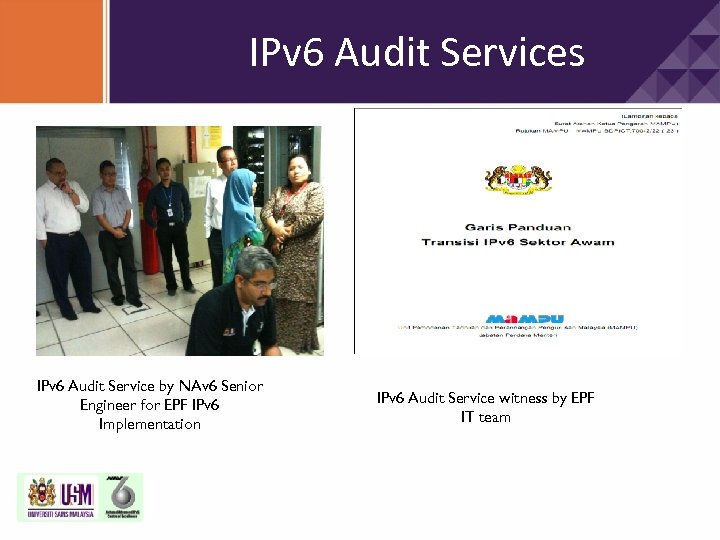 IPv 6 Audit Services IPv 6 Audit Service by NAv 6 Senior Engineer for