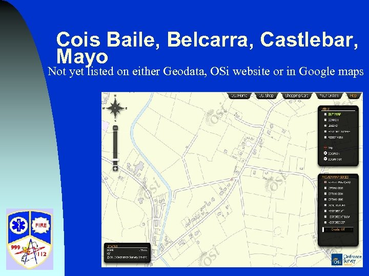 Cois Baile, Belcarra, Castlebar, Mayo Not yet listed on either Geodata, OSi website or