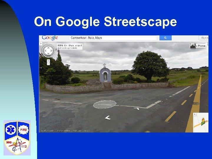 On Google Streetscape