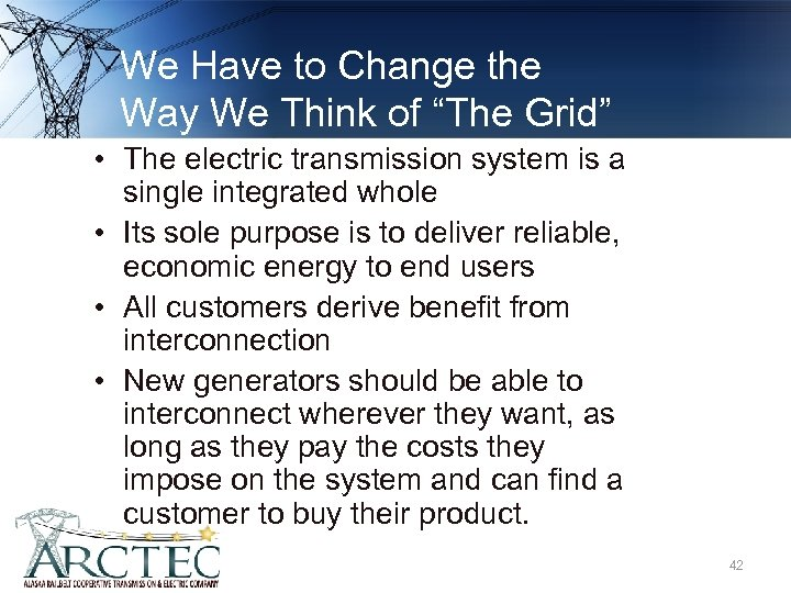 "We Have to Change the Way We Think of ""The Grid"" • The electric"