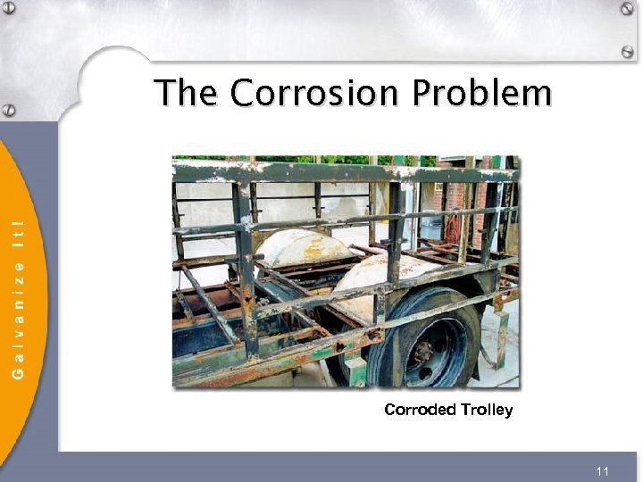 The Corrosion Problem Corroded Trolley 11