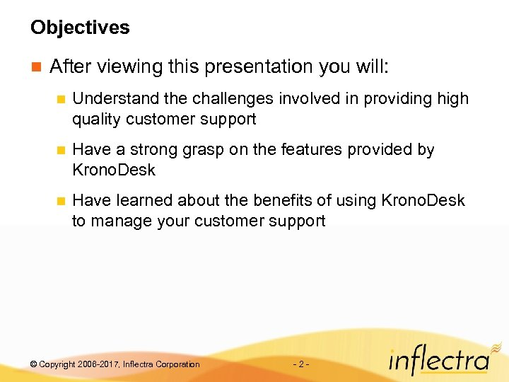 Objectives n After viewing this presentation you will: n Understand the challenges involved in