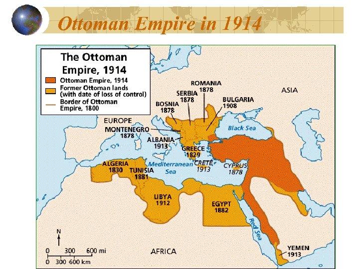Ottoman Empire in 1914