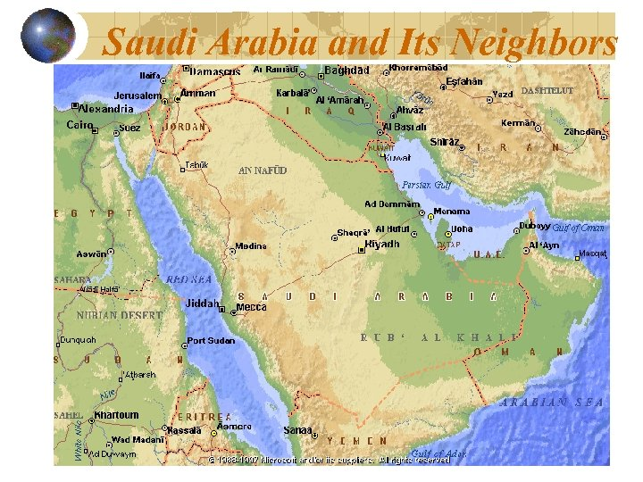 Saudi Arabia and Its Neighbors