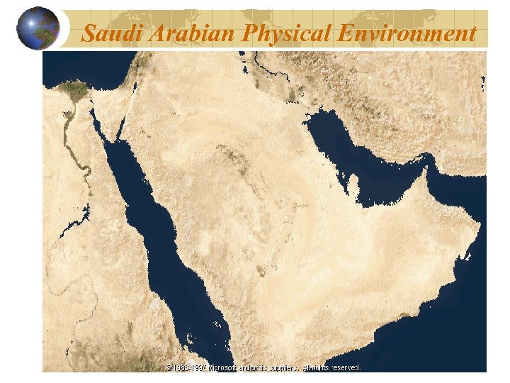 Saudi Arabian Physical Environment