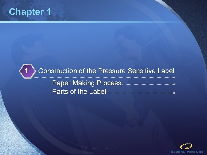 Chapter 1 1 Construction of the Pressure Sensitive Label Paper Making Process Parts of